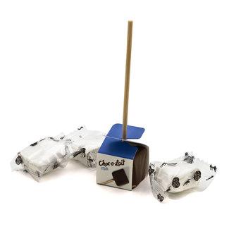Mo Me Choco stick milk with 3 marshmallows