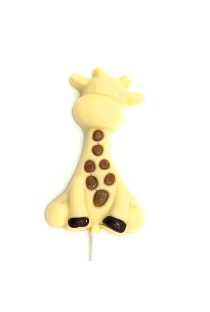 Lollipop Raf the giraffe (white)