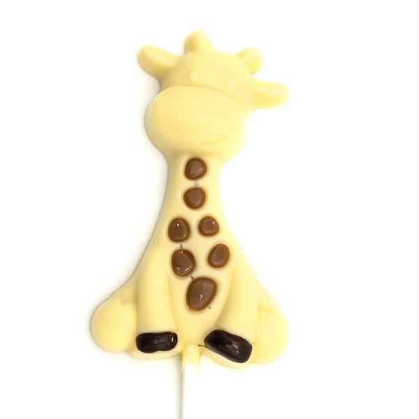 Lollipop Raf the giraffe (white)-1