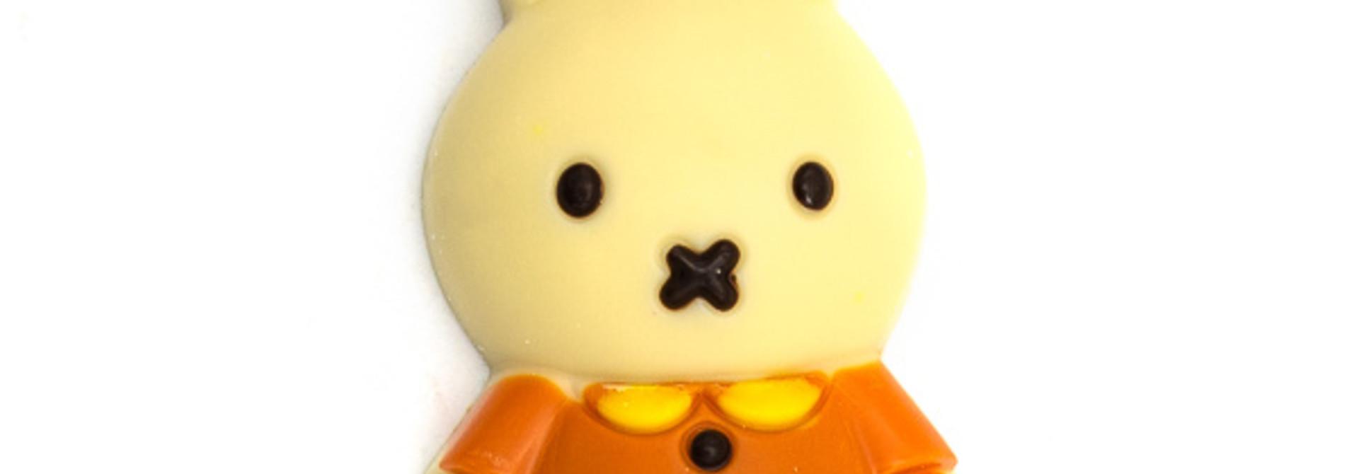 Lollipop Miffy (white)