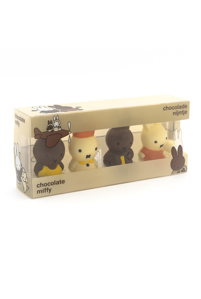 4 mini Miffy figurines
