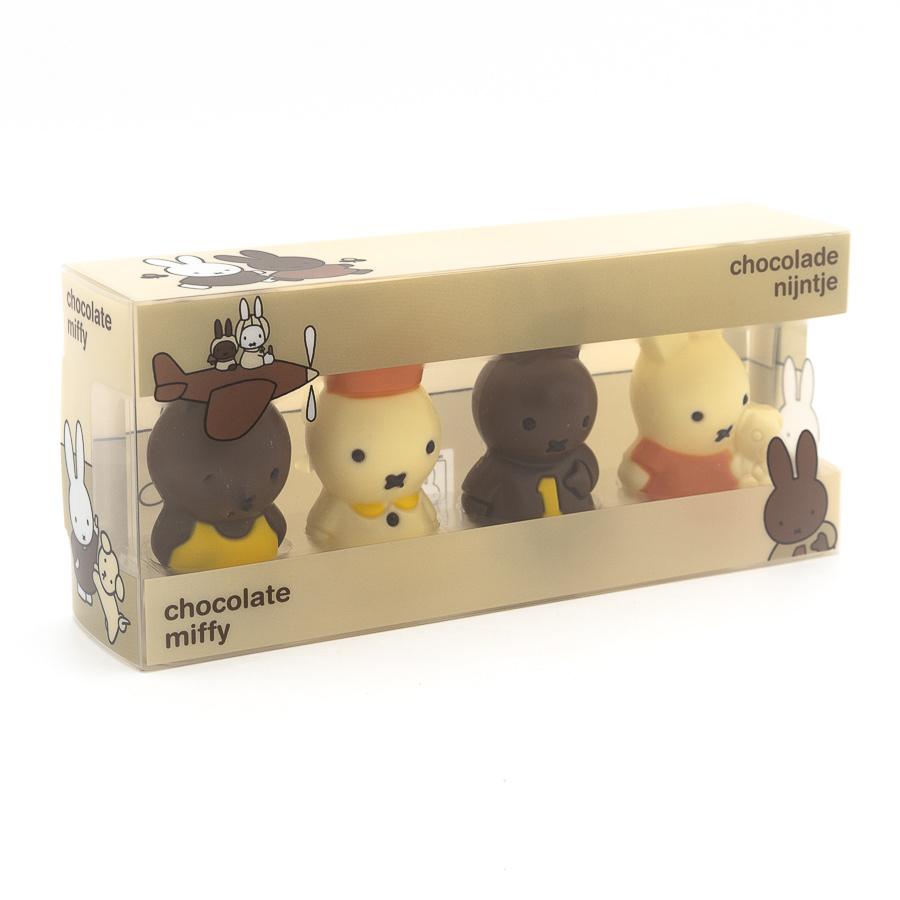 4 mini Miffy figurines-1