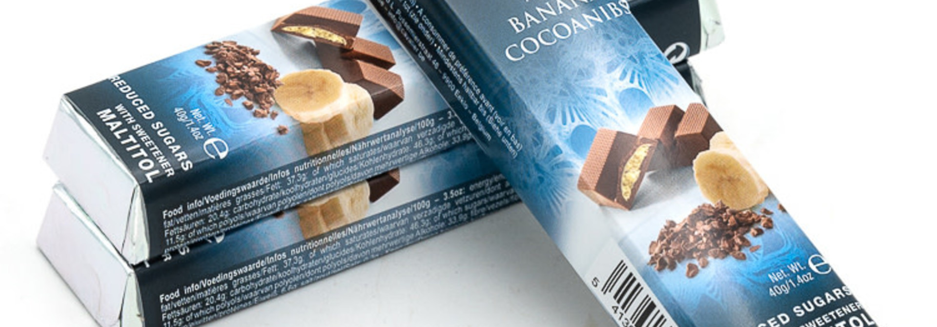 Cavalier Milk Banana Cocoanibs 40 Grs