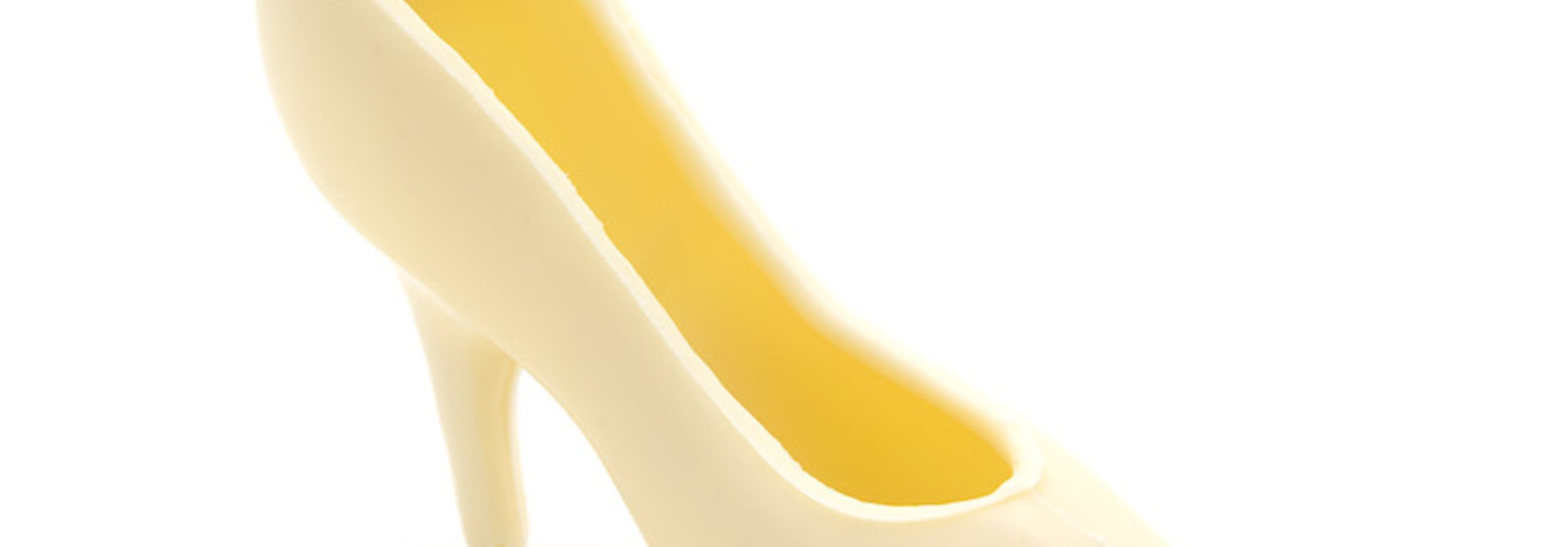 Small high heels white 65Grs