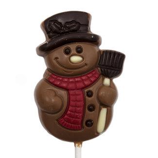 Belfine Lollipop snowman (milk)