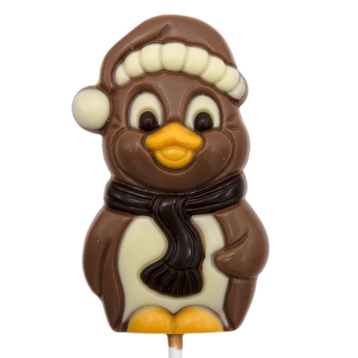 Lollipop Christmas penguin (milk)-1