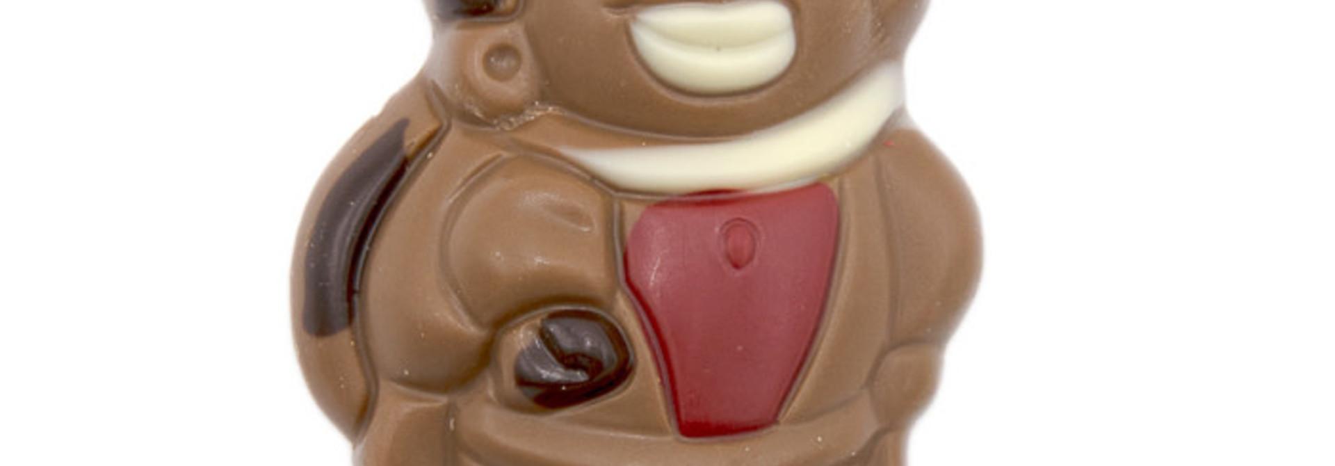 Lollipop Père Fouettard (red)