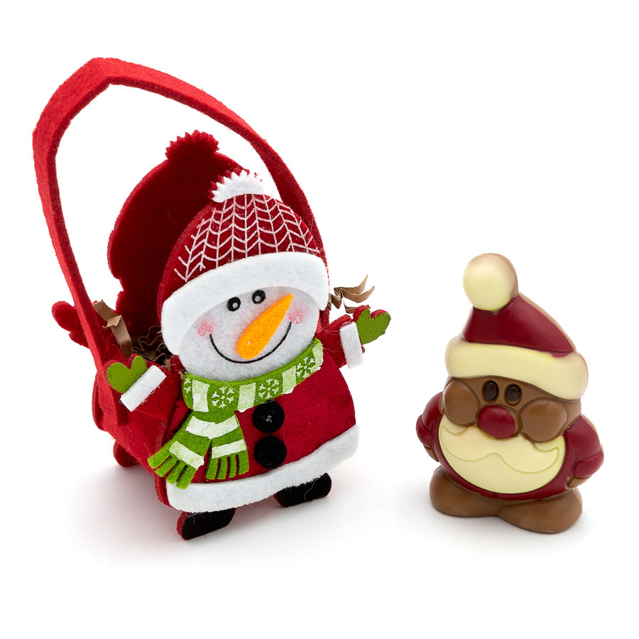 Hippy Santa Claus in bag-1