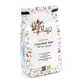 Tohi Flakes box 200g dark 74% cocoa
