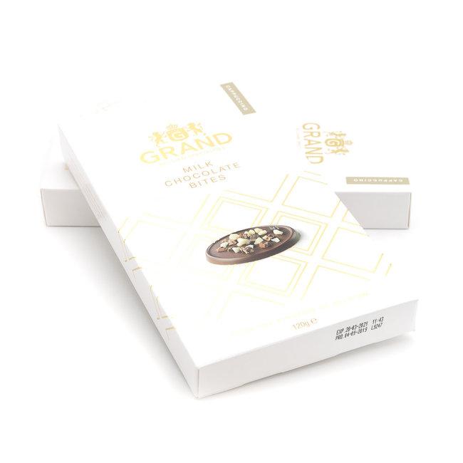 Grand Milk chocolate bites (cappuccino)