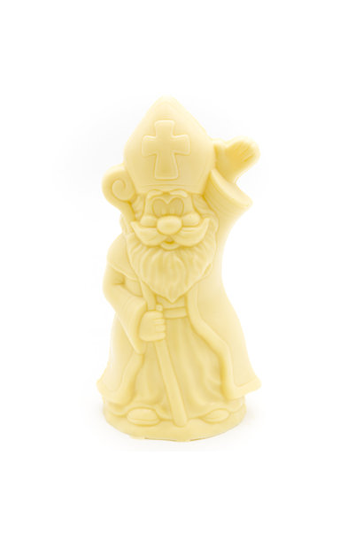 Saint Nicholas with scepter (white)