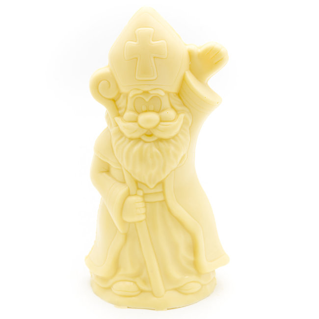 Chocomeli Saint Nicholas with scepter (white)