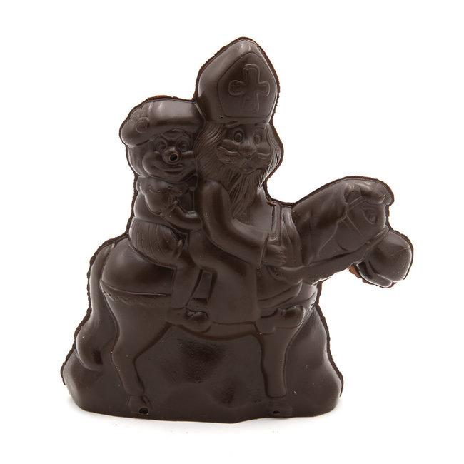 Chocomeli Saint Nicholas with horse  (dark)