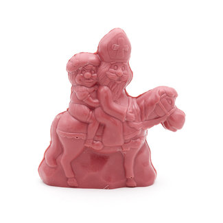 Chocomeli Saint Nicholas with horse  (ruby)