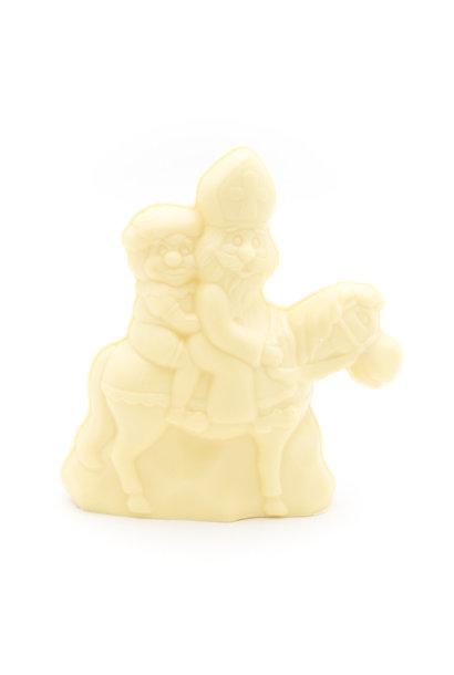Saint Nicholas with horse  (white)