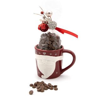 Chocomeli Hot milk chocolate in cup (Santa)