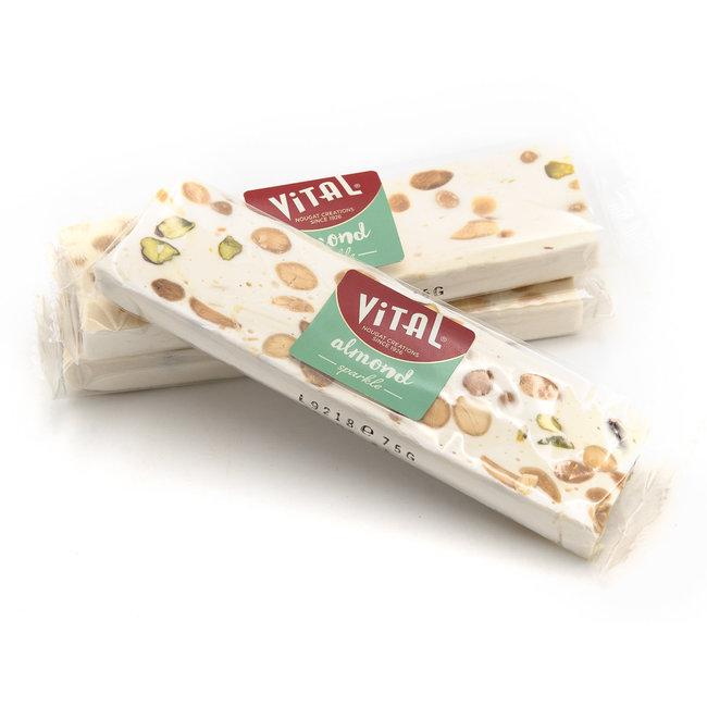 Vital Nougat with almonds