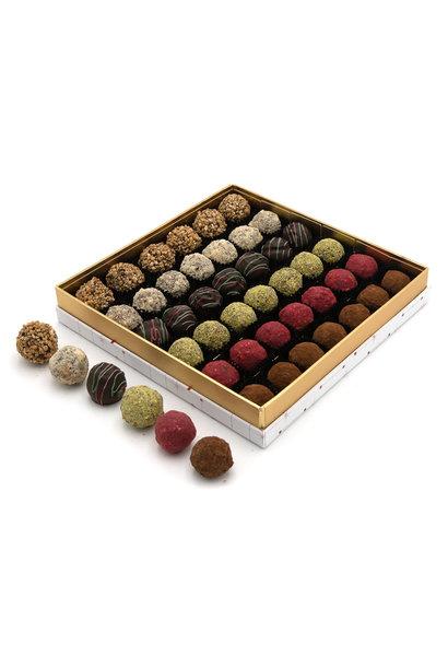 Christmas box truffles 550 Grs