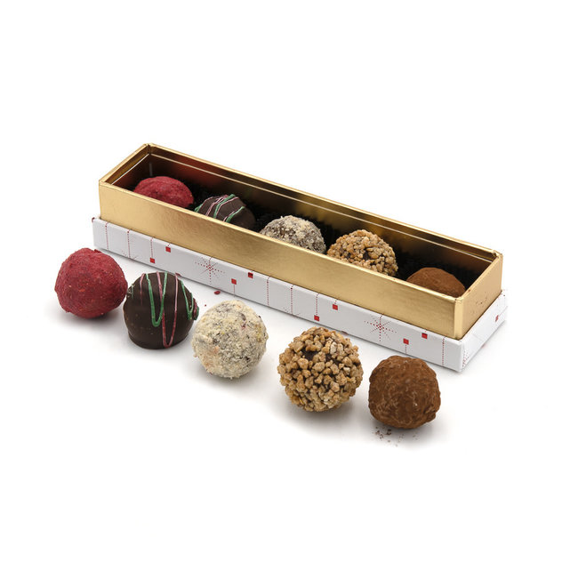 Chocomeli Christmas box truffles 70 Grs