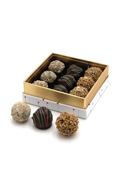 Christmas box truffles 125 Grs