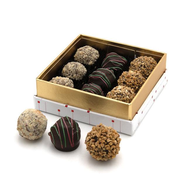 Chocomeli Christmas box truffles 125 Grs
