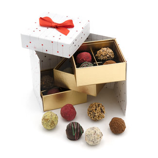 Chocomeli Christmas box truffles 165 Grs