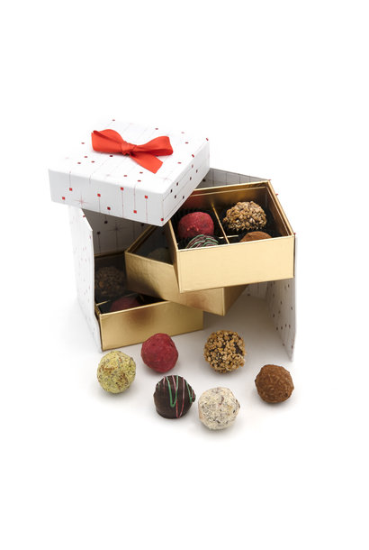 Christmas box truffles 165 Grs