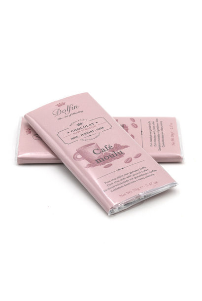 Dolfin dark chocolate (ground coffee)