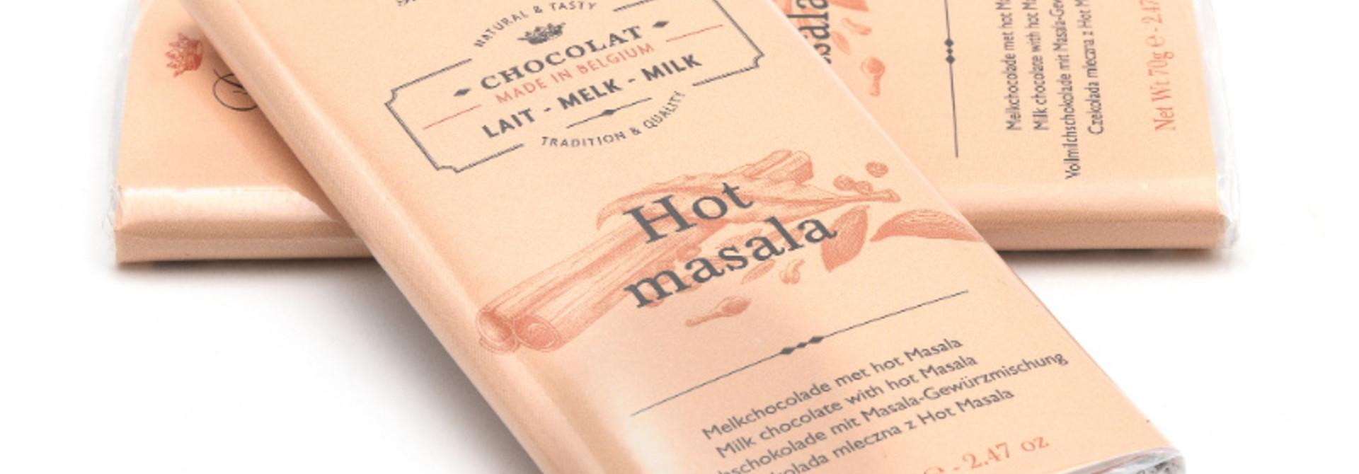 Dolfin milk chocolate (hot masala)
