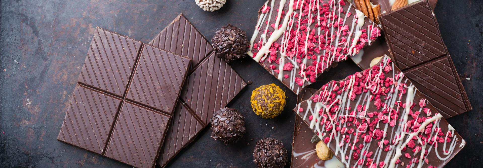 CHOCOLATE BARS 100 GRS