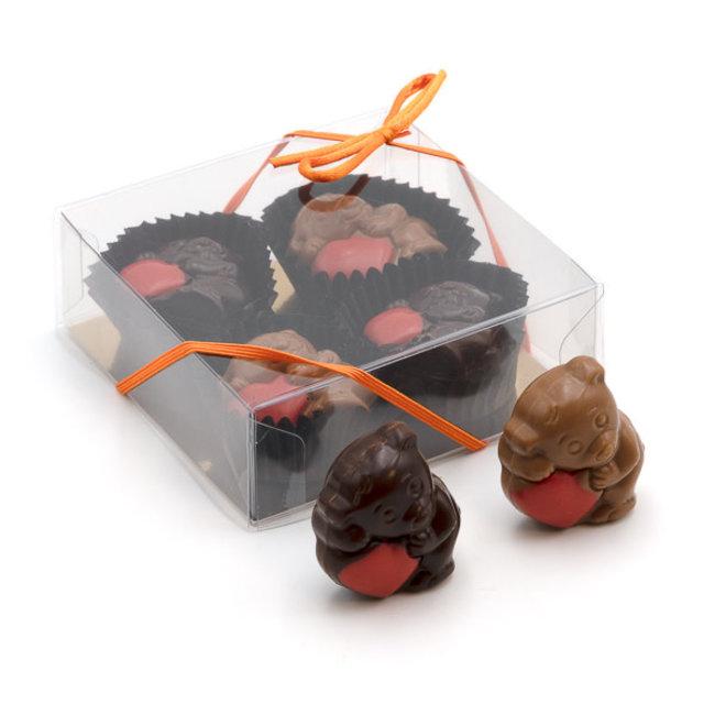 Trezor Box of little bears (praliné) 50 Grs