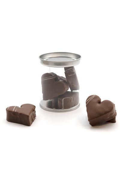 Hearts marshmallows (milk)