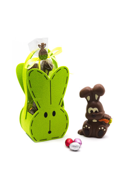 Bunny Sergio with eggs