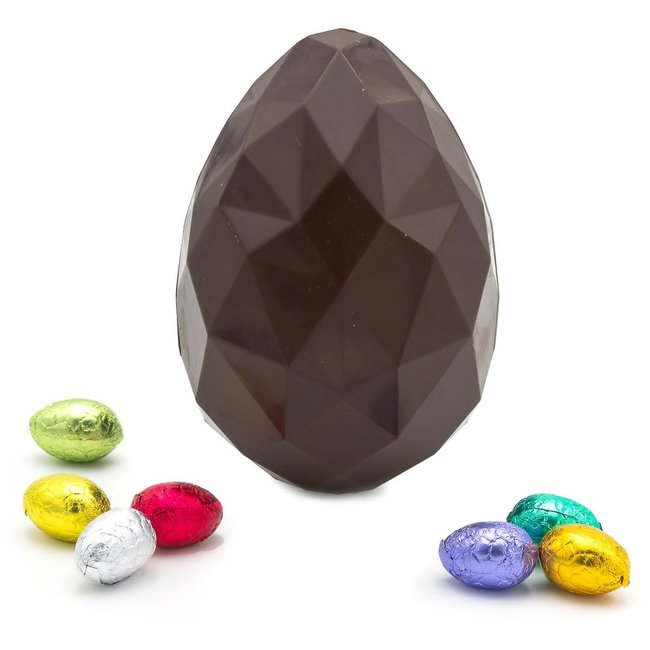 Chocomeli Diamond egg M (dark)
