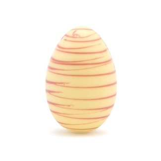Chocomeli Easter striped egg (white)