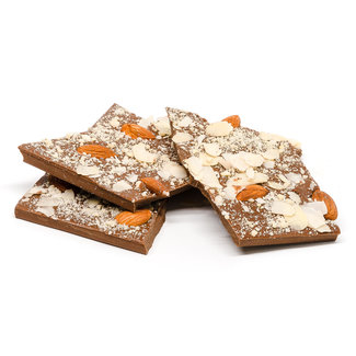 Chocomeli Broken tablets milk (almond) 200Grs