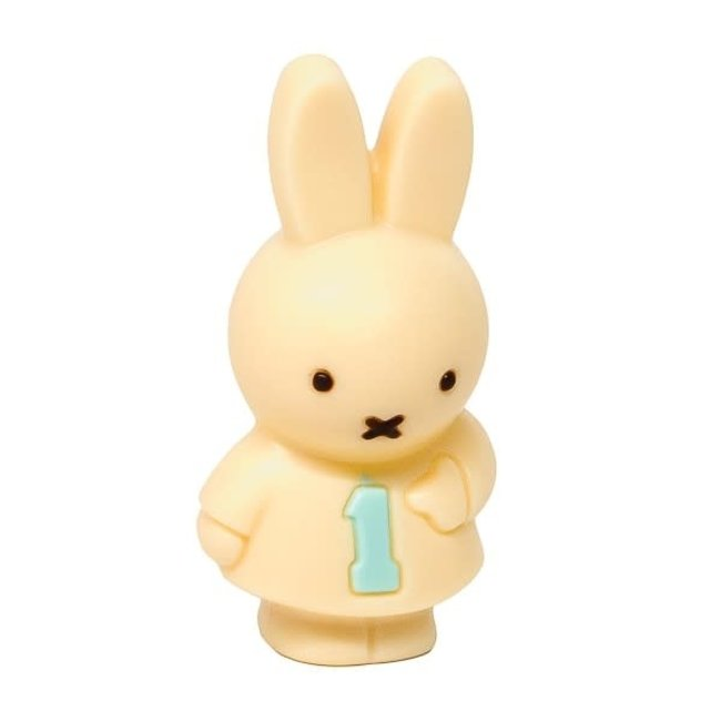 Meynendonckx Miffy girl small number 1 (white)
