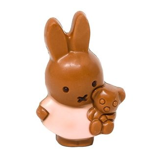 Meynendonckx Miffy girl small plush (milk)