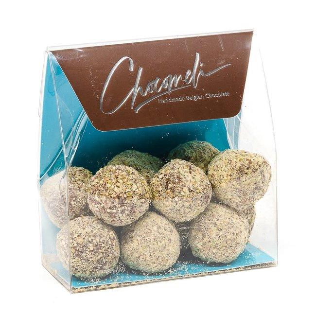 Chocomeli Truffles in bag (pistachios)