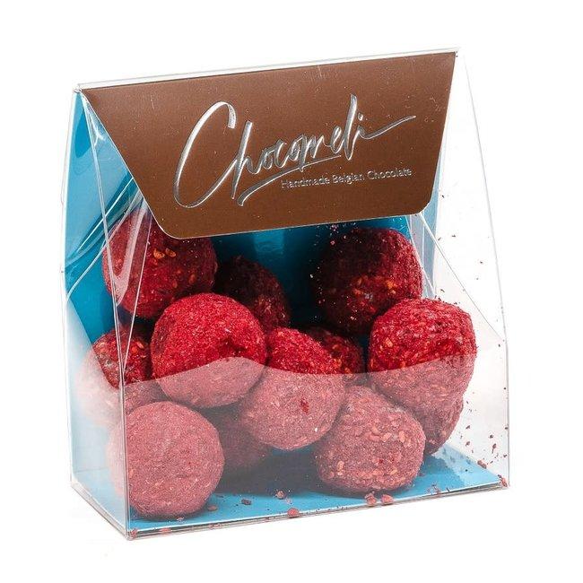 Chocomeli Truffles in bag (raspberry)
