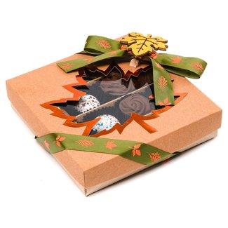 Chocomeli Autumn box of 16 pralines (mixed) 190 Grs