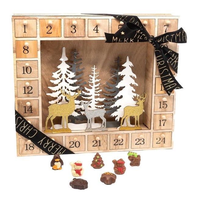 Chocomeli Advent calendar (reindeer)