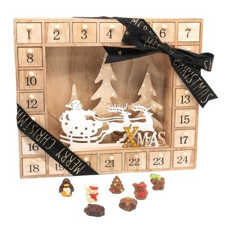 Chocomeli Advent calendar (Santa Claus)