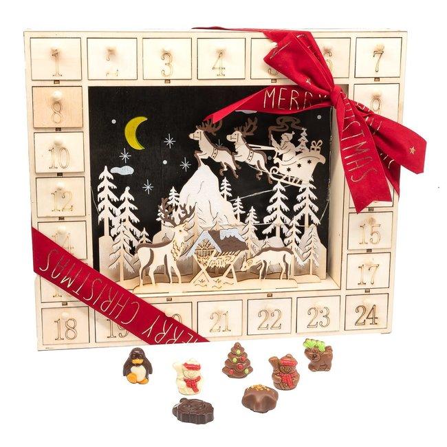 Chocomeli Advent calendar (Christmas)