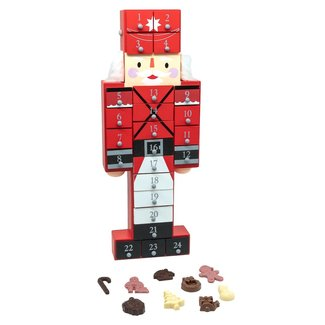 Chocomeli Advent calendar (toy soldier)