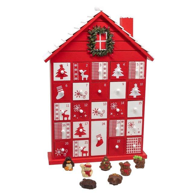 Chocomeli Advent calendar (house)