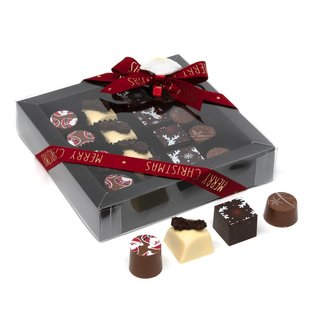 Chocomeli Christmas box pralines