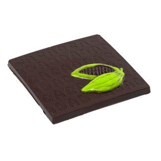 Chocomeli Dark 75% chocolate bar (pistachio)