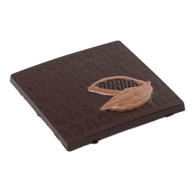 Chocomeli Dark 75% chocolate bar (praliné)