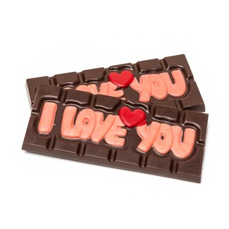 Chocomeli ''I love you'' (dark) 45 Grs